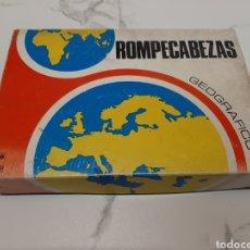 Juegos educativos: ROMPECABEZAS GEOGRAFICO BORRAS. Lote 243412660