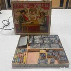 Juegos educativos: JUGUETE ANTIGUO EL PEQUEÑO ARQUITECTO CON CAJA ORIGINAL Y INSTRUCCIONES. Lote 243985230