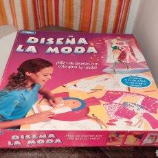 Juegos educativos: DISEÑA LA MODA, JUEGO DE 1997. Lote 244802435