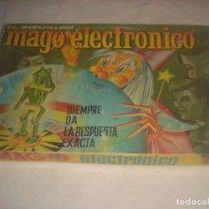 Juegos educativos: EL MARAVILLOSO MAGO ELECTRONICO . SIEMPRE DA LA RESPUESTA EXACTA. AÑOS 60. Lote 247429585