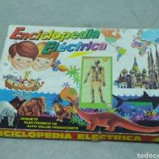 Juegos educativos: ENCICLOPEDIA ELÉCTRICA. Lote 247786980