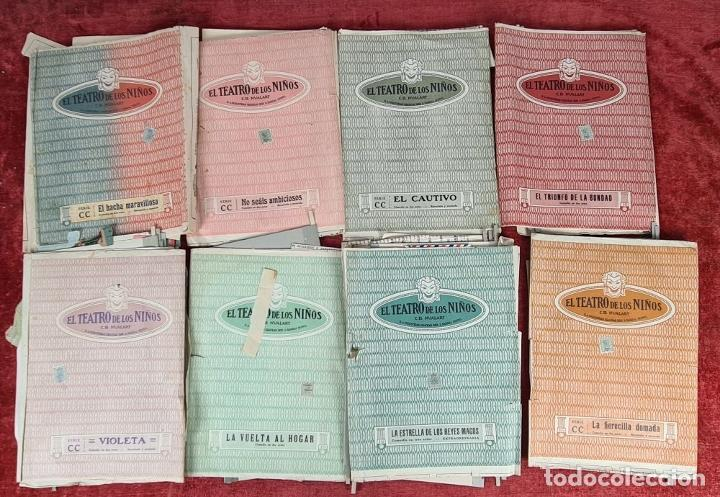 Juegos educativos: EL TEATRO DE LOS NIÑOS. MODELO CC. SEIX BARRAL. INCLUYE 8 OBRAS. CIRCA 1930. - Foto 6 - 248419960