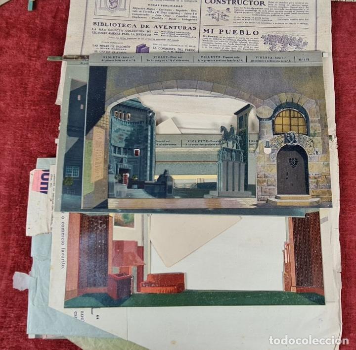 Juegos educativos: EL TEATRO DE LOS NIÑOS. MODELO CC. SEIX BARRAL. INCLUYE 8 OBRAS. CIRCA 1930. - Foto 8 - 248419960
