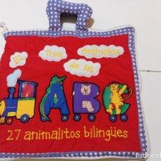 Juegos educativos: EL TREN DE LOS ANIMALES. Lote 249051730