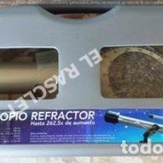 Juegos educativos: TELESCOPIO REFRACTOR - HASTA 262,5 X DE AUMENTO NUEVO SIN ESTRENAR. Lote 249533070