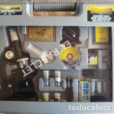 Juegos educativos: MICROESCOPIO -MARCA DE LUXE - ZOOM POWER 100X-200X-300X-600X- 1200X - NUEVO. Lote 249534235
