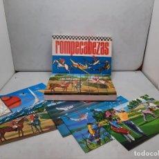 Juegos educativos: ROMPECABEZAS BORRAS REF 540 CON 5 LAMINAS, NUEVO. Lote 251977130