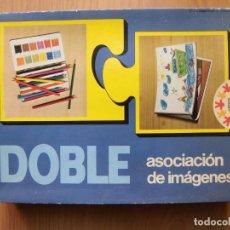 Juegos educativos: ANTIGUO JUEGO DIDÁCTICO EDUCA DOBLE ASOCIACIÓN DE IMÁGENES. Lote 254089215
