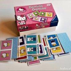 Juegos educativos: DOMINO INFANTIL HELLO KITTY - FALTA UN PIEZA. Lote 254442580