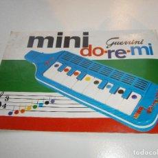 Juegos educativos: MINI DO-RE-MI - GUERRINI - ALBUM DE CANCIONES. Lote 258039530