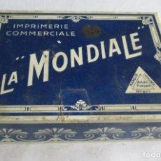 Juegos educativos: IMPRENTILLA FRANCESA LA MONDIALE MUY COMPLETA. Lote 262177490