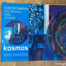 Juegos educativos: JUEGO ELECTROMANN ELECTRICIDAD PARA JOVENES KOSMOS - FELP. Lote 262603380