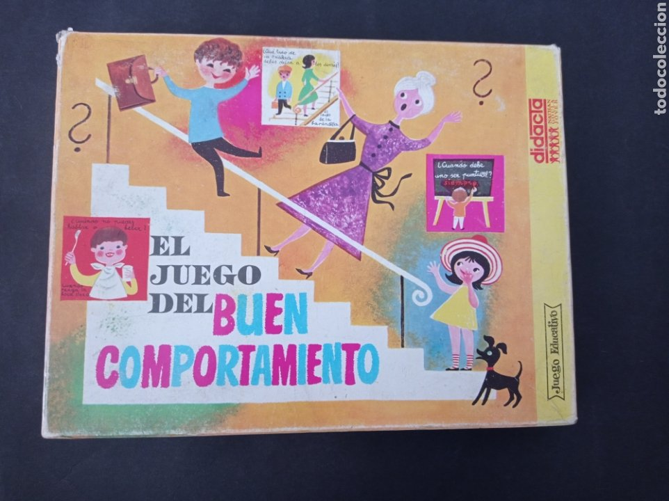 EL JUEGO DEL BUEN COMPORTAMIENTO.DIDACTA AÑOS 60 (Juguetes - Juegos - Educativos)