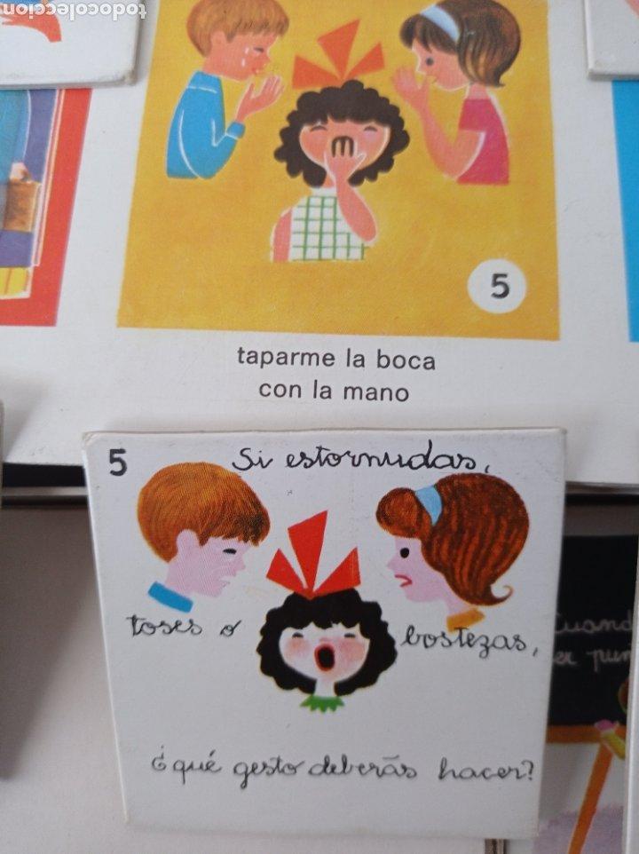 Juegos educativos: El juego del buen comportamiento.Didacta años 60 - Foto 3 - 262713130
