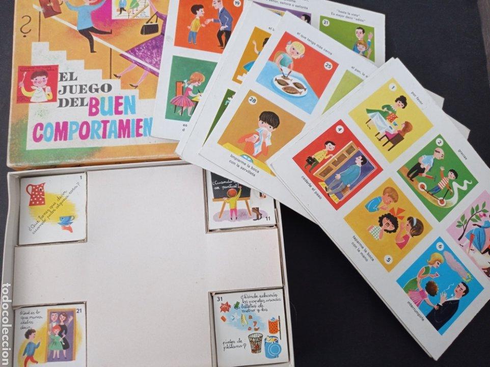 Juegos educativos: El juego del buen comportamiento.Didacta años 60 - Foto 5 - 262713130