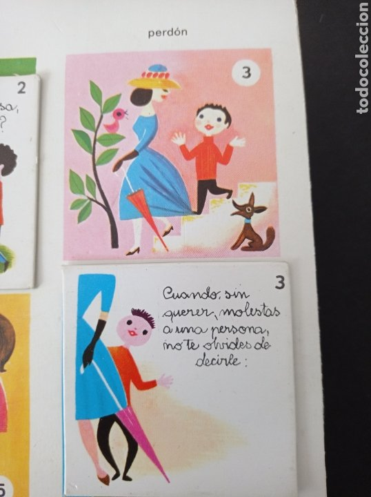 Juegos educativos: El juego del buen comportamiento.Didacta años 60 - Foto 6 - 262713130