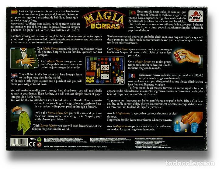 Juegos educativos: MAGIA BORRAS CLASSIC CAJA CON 200 TRUCOS JUEGOS - Foto 3 - 262719385