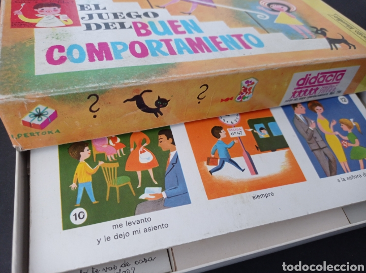 Juegos educativos: El juego del buen comportamiento.Didacta años 60 - Foto 7 - 262713130