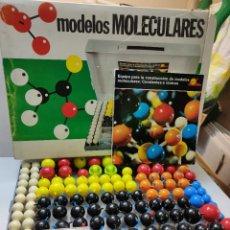 Jogos educativos: JUEGO MODELOS MOLECULARES-COVALENTES E IÓNICOS DE SERÍMA EN CAJA ORIGINAL. Lote 262927870