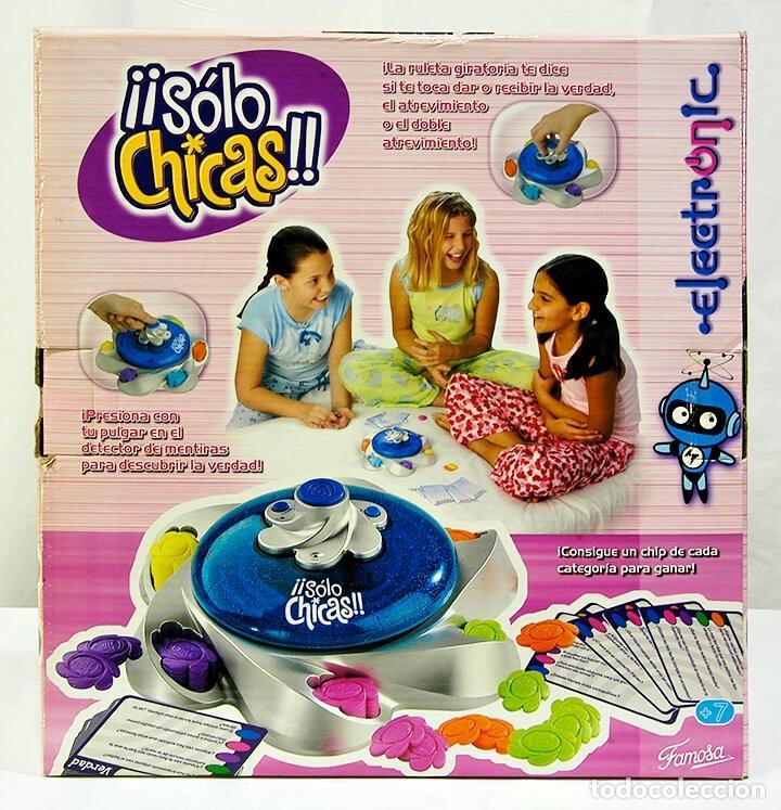 Juegos educativos: JUEGO ¡¡SÓLO CHICAS!! DE FAMOSA VERDAD O ATREVIMIENTO - Foto 2 - 262945170