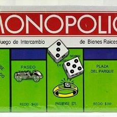 Juegos educativos: JUEGO DEL MONOPOLIO DE INTERCAMBIO DE BIENES RAICES. Lote 262951800