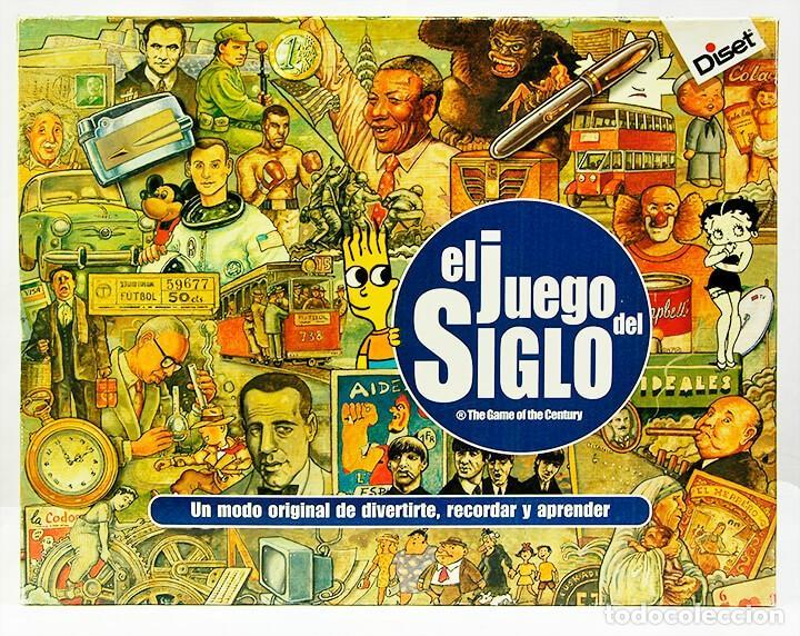EL JUEGO DEL SIGLO - DISET - PARA DIVERTIRSE RECORDAR Y APRENDER (Juguetes - Juegos - Educativos)
