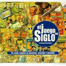 Juegos educativos: EL JUEGO DEL SIGLO - DISET - PARA DIVERTIRSE RECORDAR Y APRENDER. Lote 263546360