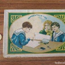 Juegos educativos: IMPRENTILLA 120, JUEGO DE IMPRENTA AÑOS 30 / 40. Lote 263946880