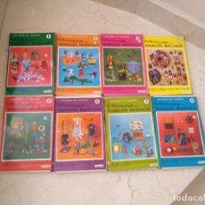 Juegos educativos: ANTIGUA COLECCION FICHAS EDUCATIVAS NOVALAR TRABAJOS MANUALES. AÑO 1970. Lote 264498904
