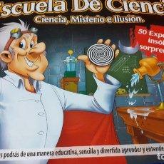 Juegos educativos: ESCUELA DE CIENCIA. Lote 265485134