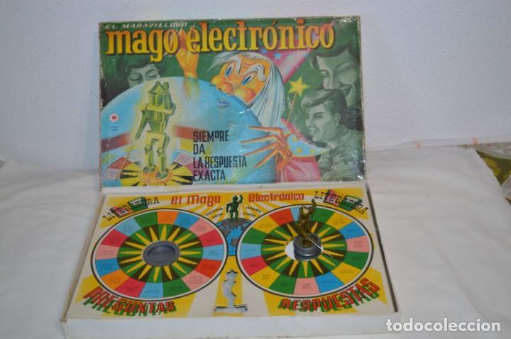 EL MARAVILLOSO MAGO ELECTRONICO - ANTIGUO JUEGO DE MESA - CEFA - ¡MIRA FOTOS! (Juguetes - Juegos - Educativos)