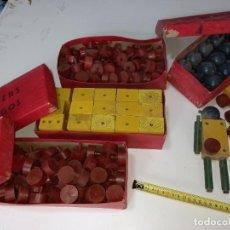 Juegos educativos: ANTIGUO JUEGO DE MADERA CIENTOS DE PIEZAS AÑOS 50 ,CONSTRUCCIÒN , MECANO , LEGO, ACEPTO OFERTAS. Lote 267408754