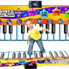 Juegos educativos: TECLADO PIANO ELECTRONICO MUSICAL GRANDE NIÑOS NUEVO EN SU CAJA - 180 X 74.CM APROX. Lote 268140464