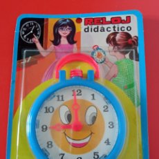 Juegos educativos: RELOJ DIDÁCTICO (15×11) SHAMBERS 70S SHAMBER'S.SIN ABRIR.. Lote 268916944