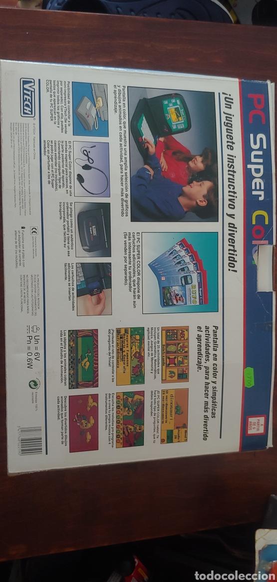 Juegos educativos: Pc super color vtech años 90 (sin usar) - Foto 2 - 269398858