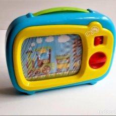 Juegos educativos: PANTALLA CON MOVIMIENTO ESTILO TV CLASSIC A CUERDA CON MUSICA - 15 X 20.CM. Lote 272734523