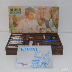 Juegos educativos: JUEGO DE EXPERIMENTOS, QUIMICA KIMING, POCH, AÑOS 70, MADE IN SPAIN. Lote 275146298