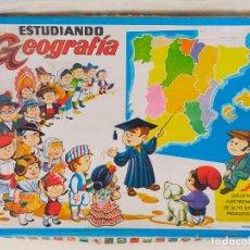 Juegos educativos: ESTUDIANDO GEOGRAFIA MAPA DE EUROPA JUGUETE 1004. Lote 275763128
