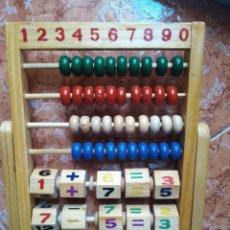 Juegos educativos: ABACO INFANTIL-JUGUETE DE MADERA-AÑOS 80 90. Lote 277650178
