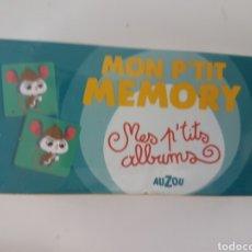 Juegos educativos: JUEGO DE MEMORIA FRANCÉS P'TIT JEU MEMORY AUZOU DE 4 A 6 AÑOS MON P'ETIT MEMORY. Lote 277677938