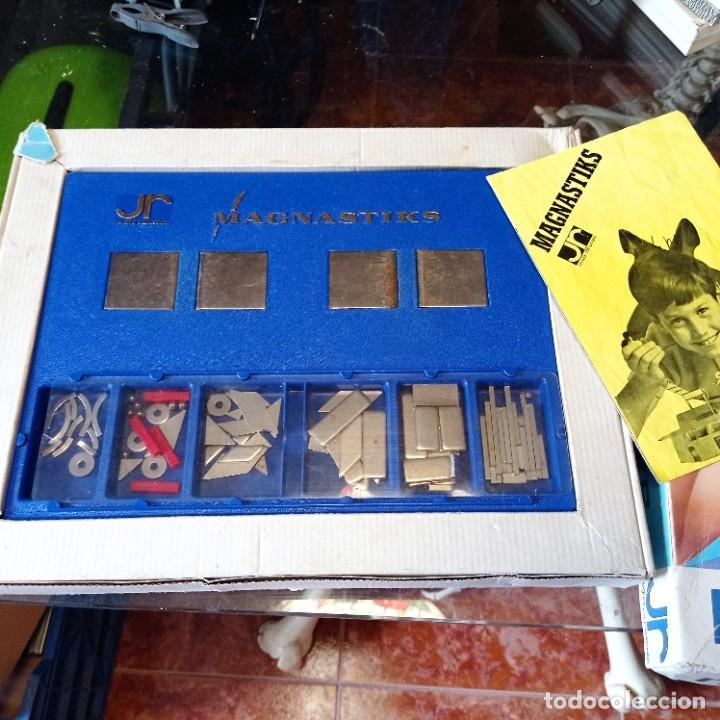Juegos educativos: MAGNASTIKS - Juego de construcción magnético - Juguetes Racionales - Foto 2 - 279408998