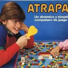 Juegos educativos: ANTIGUO JUEGO DE MESA: ATRAPALO, DE BORRAS, A ESTRENAR. AÑOS 80. INN. Lote 280136838