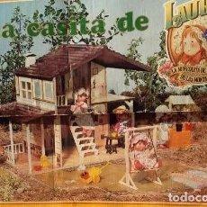 Juegos educativos: ANTIGUA CASA DE MUÑECAS: LA CASA DE LAURA DE LAS MONTAÑAS, DE TOYSE, AÑOS 80. INN. Lote 280137333