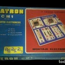 Juegos educativos: ANTIGUO JUEGO DE MESA: SCATRON CM1, PRECINTADO, A ESTRENAR. AÑOS 70. INN. Lote 280136588