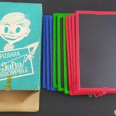 Juegos educativos: PIZARRA SAFTA IRROMPIBLE - EN CAJA - BUEN ESTADO - VINTAGE - AÑOS 70 - ANTIGUAS. Lote 286670073