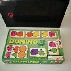 Juegos educativos: ANTIGUO DOMINO EDUCA COMPLETO JUEGO DE MESA BUEN ESTADO. Lote 286926978