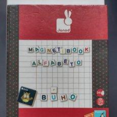 Juegos educativos: MAGNETIBOOK - ALFABETO - JANOD. Lote 288050758