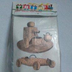 Juegos educativos: TRIN JUGUETES DE CORCHO N° 23 SIN ABRIR ,A ESTRENAR.1968. Lote 288136903