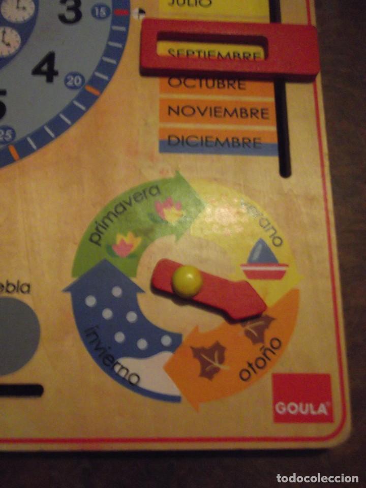 Juegos educativos: Magnifico juego educativo MES , ESTACIÓN ; SEMANA ; DIA ; HORA , TIEMPO de madera 44 x 44 cm - Foto 7 - 288370703