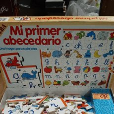Juegos educativos: CQ 213105 MI PRIMER ABECEDARIO EN MADERA EDUCCA. Lote 288995173